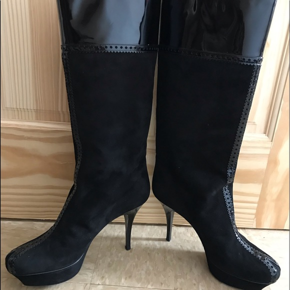 Yves Saint Laurent Shoes - Beautiful Yves Saint Laurent Boots - Size 11.5